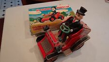 Vintage 1950's OLD FASHIONED Grandpa's car BATTERY OPERATED JAPAN toy Modern toy
