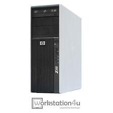 HP Z400 Workstation PC Intel Xeon W3550 12GB RAM 128GB SSD Quadro 600 Win7