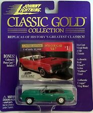 1970 COUGAR XR-7 1998 Johnny Lightning Classic Gold #1 1:64 Die-cast MIP! LE