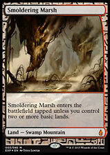 MTG SMOLDERING MARSH FOIL - EXPEDITION PALUDE ROVENTE - EXP - MAGIC