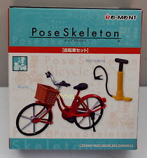 Pose Skeleton Part II Bicycle &  Accessory, 1pc - Re-ment , h#13a