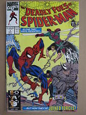1991 MARVEL COMICS THE DEADLY FOES OF SPIDER-MAN #1 - #3 LOT OF 3