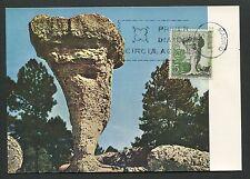 SPAIN MK 1967 CUENCA CIUDAD ENCANTADA MOUNT PEAK CARTE MAXIMUM CARD MC CM d3982