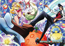Space Dandy Group Wall Scroll Poster Anime Manga NEW