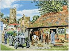 (Massey) Ferguson TE20 Little Grey Mare metal sign (og 2015)