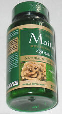 MAITAKE MUSHROOM EXTRACT 480MG 100 CAPSULES- MANY HEALTH BENEFITS - SEE BELOW