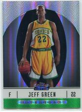 2006-07 Finest Green Refractor 105 Jeff Green XRC Rookie 7/199