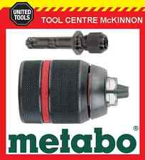 METABO 13mm ALL METAL KEYLESS CHUCK WITH SDS ADAPTER – MADE IN GERMANY