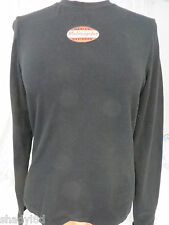 HARLEY DAVIDSON MEDIUM Black Long Sleeve Tee Womens Classic NEW M