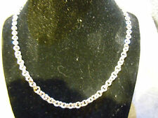 """NEW 20"""" PURE SILVER .999 SMALL CIRCLE LINK NECKLACE BY ANARCHY PM JEWELRY #E297"""