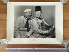 Laurel and Hardy Characters Photo Print Larry Harmon Pictures - Kemper Insurance
