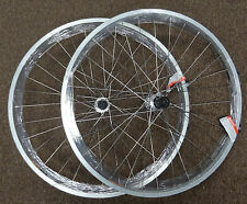 Wheelset Wheels Pair 26 in 7 - 8 spd Cassette Double Wall Rims for Mountain Bike