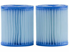 2-Pack Intex 59904 Size E Swimming Pool Replacement Cartridges For Filters