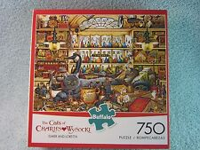 The Cats of Charles Wysocki, Elmer and Loretta, 750  Jig Saw Puzzle, Buffalo