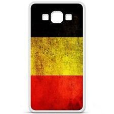 Coque Housse en Silicone Produit Français Samsung Galaxy A3 - Drapeau belgique