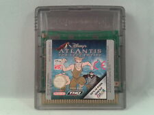 JUEGO GAME BOY COLOR  DISNEY ATLANTIS EL ULTIMO IMPERIO PAL