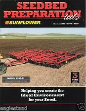 Farm Implement Brochure - Sunflower - 5000 6000 7000 Seedbed Prep Tools (F2895)