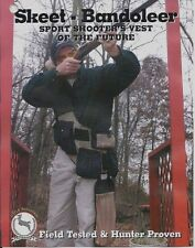Skeet / Sporting Clay - Shooting Bandoleer Vest