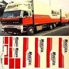 DAF Moeijes Holland (NL) 1:87 Truck Decal LKW Abziehbild
