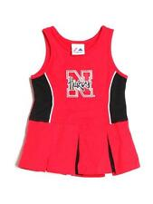 Baby Girl Majestic Nebraska Cheerleader Costume Cheer Dress Size 18 Months
