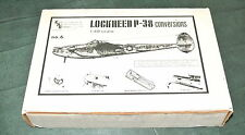 1/48 LOCKHEED P-38 CONVERSIONS (#2) VAC-FORM FOR: P-38F /  F-5A / P-38M / F-5E /