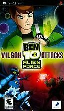 Ben 10: Alien Force -- Vilgax Attacks USED SEALED (Sony PSP, 2009)