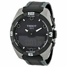Tissot T-Touch Solar Ana Digital Dial Leather Strap Mens Watch T0914204605101