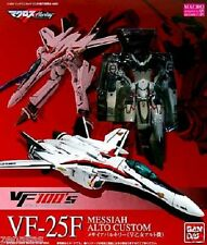 Used MACROSS VF-25F VF100\\\\\\\'s Messiah Valkyrie Aruto PAINTED Bandai