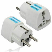 NEW Adapter Travel Converter Portable UK US AU to EU European Power Socket Plug
