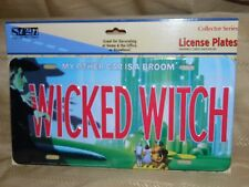 Wizard Of Oz Wicked Witch License Plate