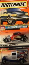 Matchbox Two Car Hot Rod Collection; #34 33 Ford Street Rod; #76 Model A Truck