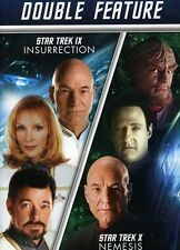 Star Trek: Insurrection/Star Trek: Nemesis [2 Discs] (2013, DVD NEUF)2 DISC SET