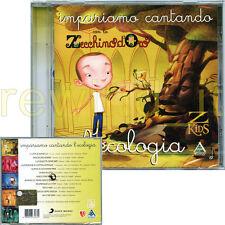 """ZECCHINO D'ORO """"IMPARIAMO CANTANDO L'ECOLOGIA"""" CD 2010 - SIGILLATO"""