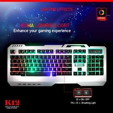 Gaming USB Wired Keyboard Rainbow Backlight for PC / Desktop / Laptop Keyboard1