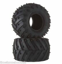 Tamiya 54603 Two Soft Spiked Tyres for Lunch Box, Pumpkin, Wild Willy, Mad Bull