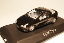 Opel Tigra A in SCHWARZ nero noir negro BLACK, Schuco LIMITED in 1:43 boxed!