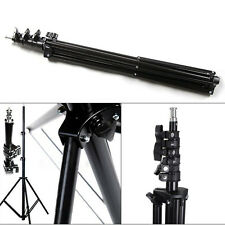 240cm 7.8ft 2.4m Flash Light Stand Tripod for Photo Studio Video Lighting