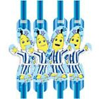 Bananas in Pyjamas Birthday Party - 8 Drinking Straws - FREE POSTAGE IN UK