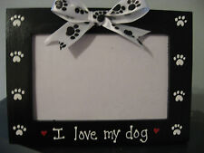 I LOVE MY DOG - custom pet photo picture frame
