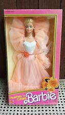 Peaches 'n Cream Barbie Doll 1984 Classic N and ~ Clear Box VG Box