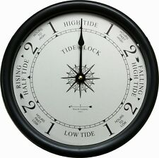 "9 1/2"" TIDE CLOCK BY WEST & CO."