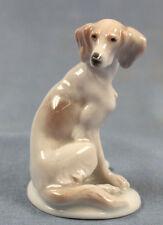 Setter  figur  porzellanfigur hund Rosenthal 1949 Jagdhund