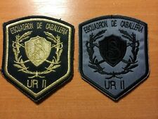PATCH POLICE ARGENTINA - MOUNTED (Caballeria)  unit - ORIGINAL! Lot 2 patches!