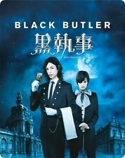 Kuroshitsuji Steelbook Black Butler BLU RAY New & Sealed Live Action ANIME Manga