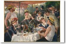 Renoir - Luncheon of the Boating Party 1881 - NEW French Art Print POSTER