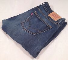 Men's Levis 512 Bootcut Jeans Red Tab Retro Vintage Denim Blue W:36 L36