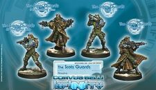Infinity BNIB Ariadna - Scots Guards, 6th Caledonian Infantry (box of 4)