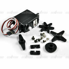 360 Degree Continuous Rotation Servos DC Geared Motor for RC Robots DS04-NFC