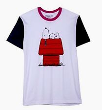 Men's Peanuts Snoopy House Graphic Tee White Large