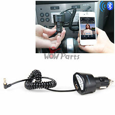 Bluetooth Audio Music Receiver Car Charger For iPhone 5C 5S Sam N9000 S4 S3 AUX